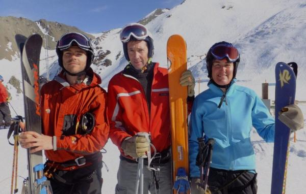 NZSIA newest telemark instructors 2011 B W3