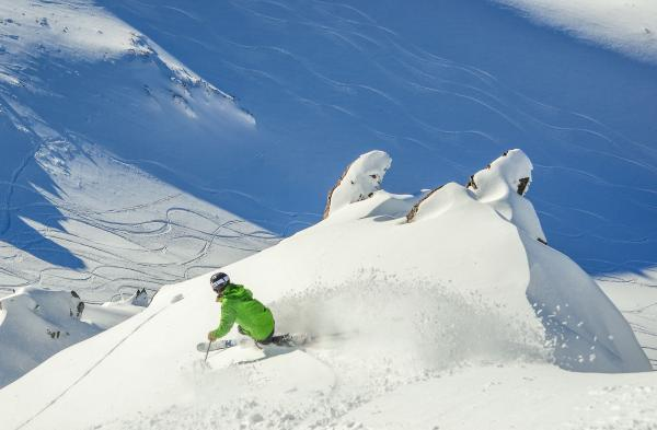 Powder Skiing South Island NZ