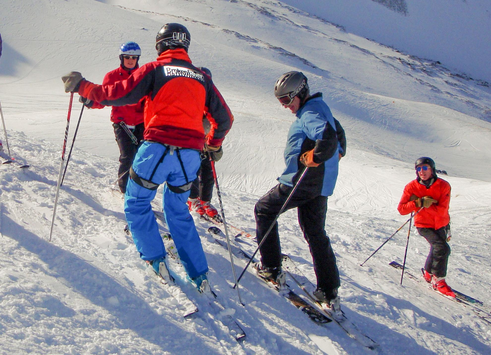 Group Ski Lessons BR