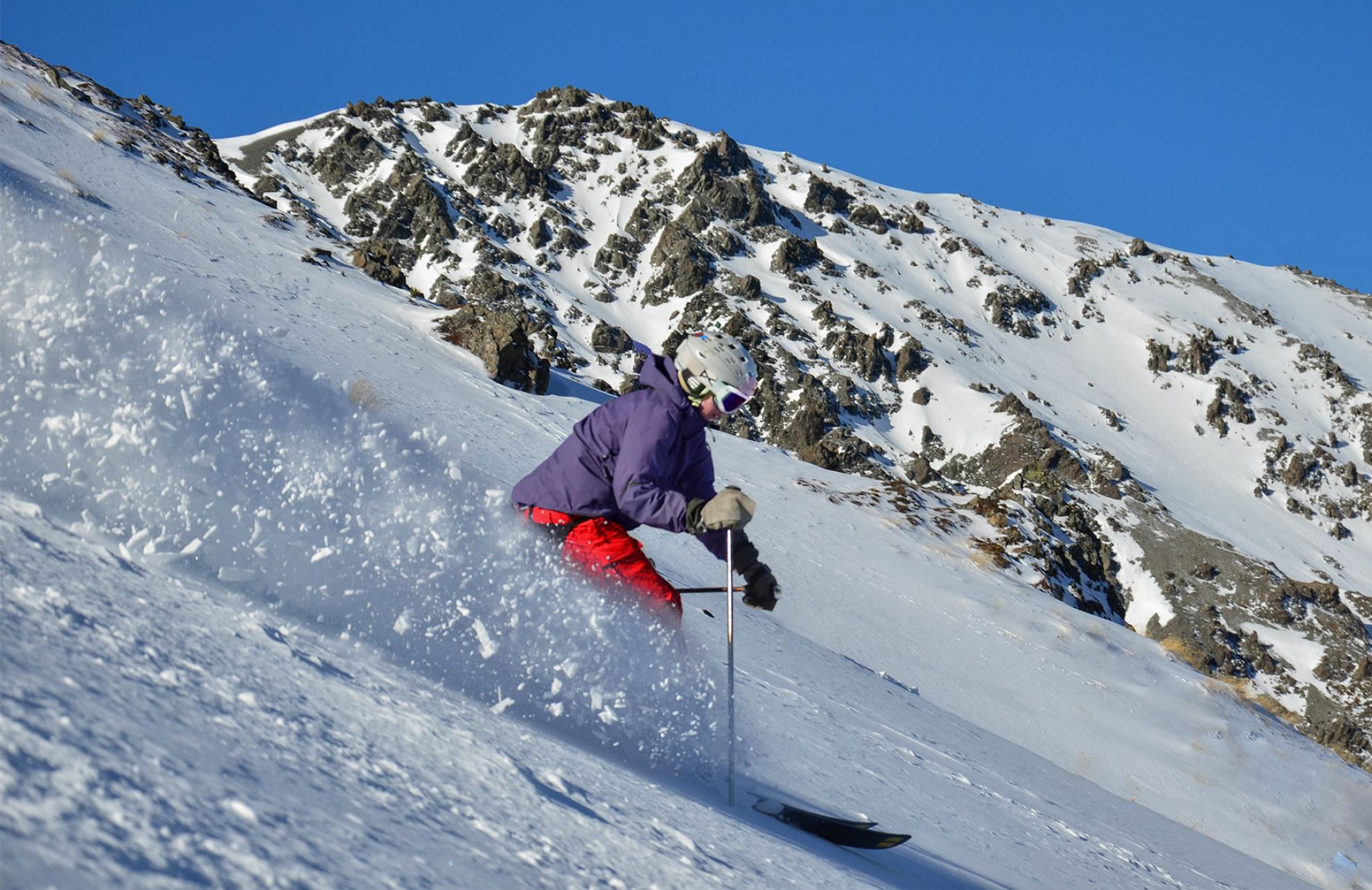 womens ski lessons New Zealand